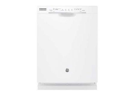 "GE 24"" White Built-In Dishwasher - GDF520PGJWW"