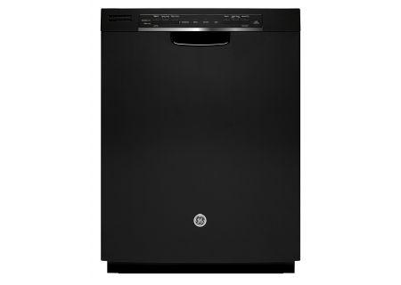 "GE 24"" Black Built-In Dishwasher - GDF570SGJBB"