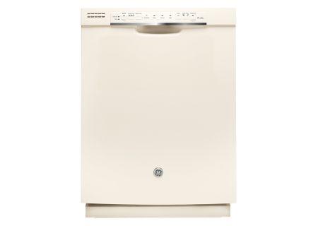 "GE 24"" Bisque Built-In Dishwasher - GDF570SGJCC"