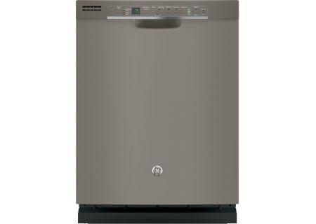 """GE 24"""" Slate Built-In Dishwasher - GDF610PMJES"""