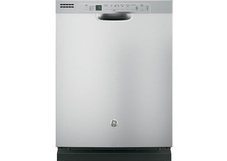 """GE 24"""" Stainless Steel Built-In Dishwasher - GDF610PSJSS"""