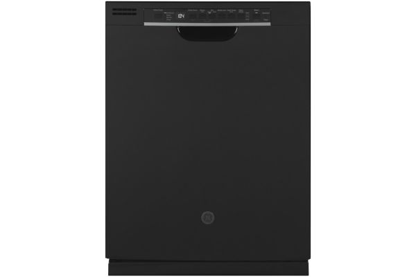 "Large image of GE Black 24"" Built-In Dishwasher - GDF630PGMBB"