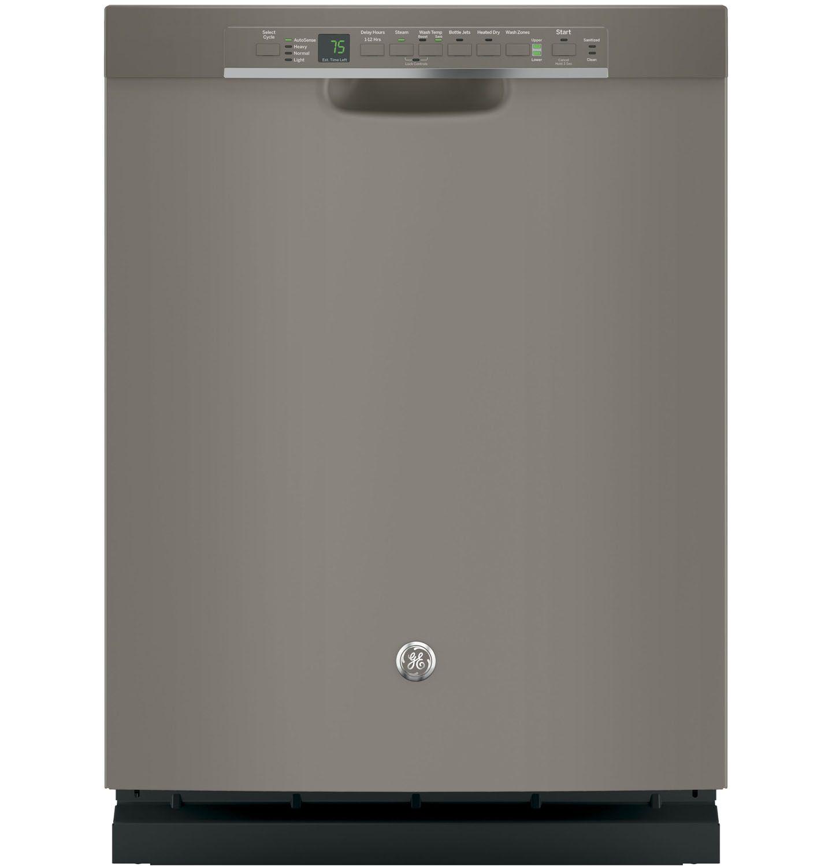 Ge 24 Quot Slate Built In Dishwasher Gdf650smjes
