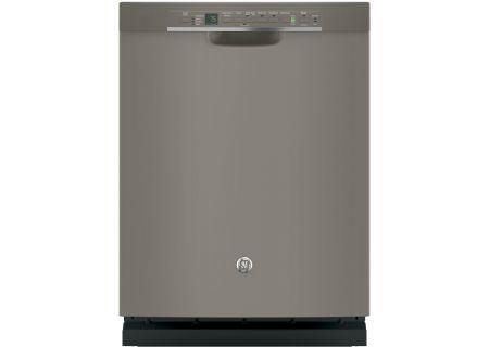 """GE 24"""" Slate Built-In Dishwasher - GDF650SMJES"""