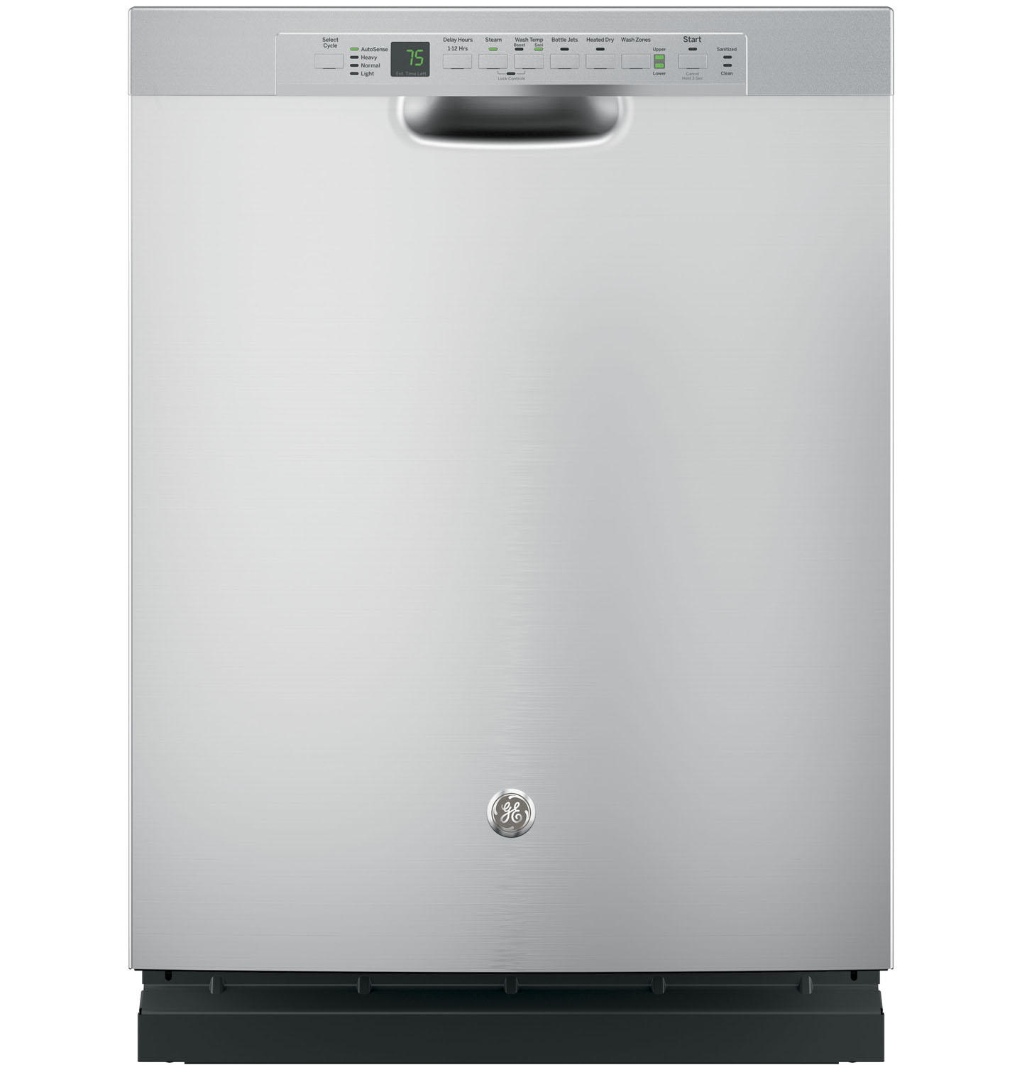 Ge 24 Quot Stainless Steel Built In Dishwasher Gdf650ssjss
