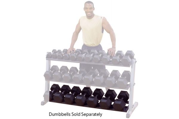Large image of Body-Solid 3rd Tier For Dumbbell Rack - GDRT6