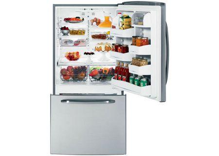 GE - GDSL3KCYRLS - Bottom Freezer Refrigerators