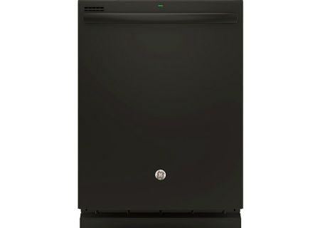 """GE 24"""" Black Built-In Dishwasher - GDT535PGJBB"""