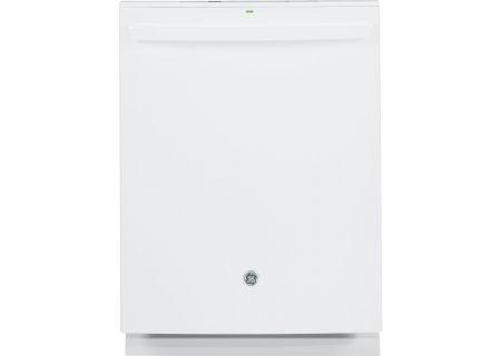 """GE 24"""" White Built-In Dishwasher - GDT655SGJWW"""