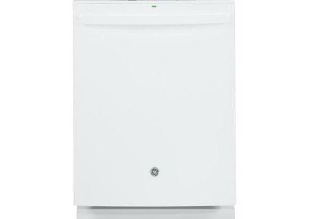 """GE 24"""" White Built-In Dishwasher - GDT695SGJWW"""