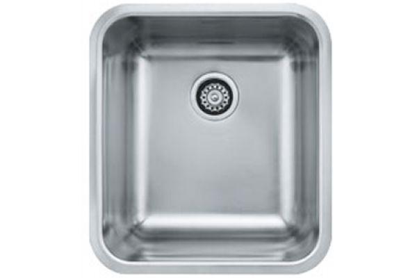 Large image of Franke GRANDE Single Bowl Stainless Steel Kitchen Sink - GDX11018