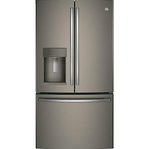 Ge Profile Slate French Door Refrigerator Gfd28gmles