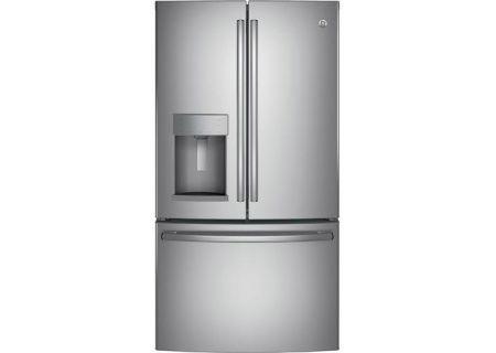 GE Stainless Steel French-Door Bottom Freezer Refrigerator - GFE26GSKSS