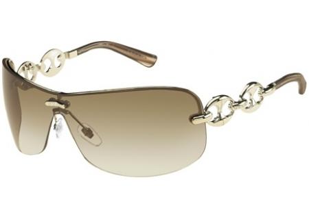 a0b9344fc2 Gucci Rimless Shield Sunglasses Chain Detail Reviews