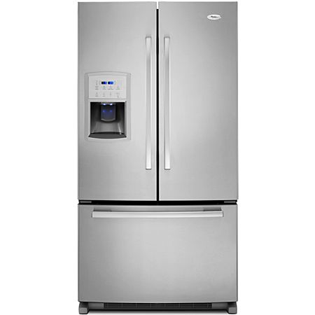 Whirlpool French Bottom Freezer Refrigerator Gi0fsaxvy