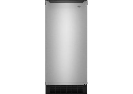 "Whirlpool Gold 15"" Stainless Steel Ice Maker - GI15NDXZS"