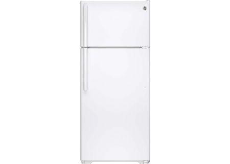 GE 17.5 Cu. Ft. White Top Freezer Refrigerator - GIE18GTHWW