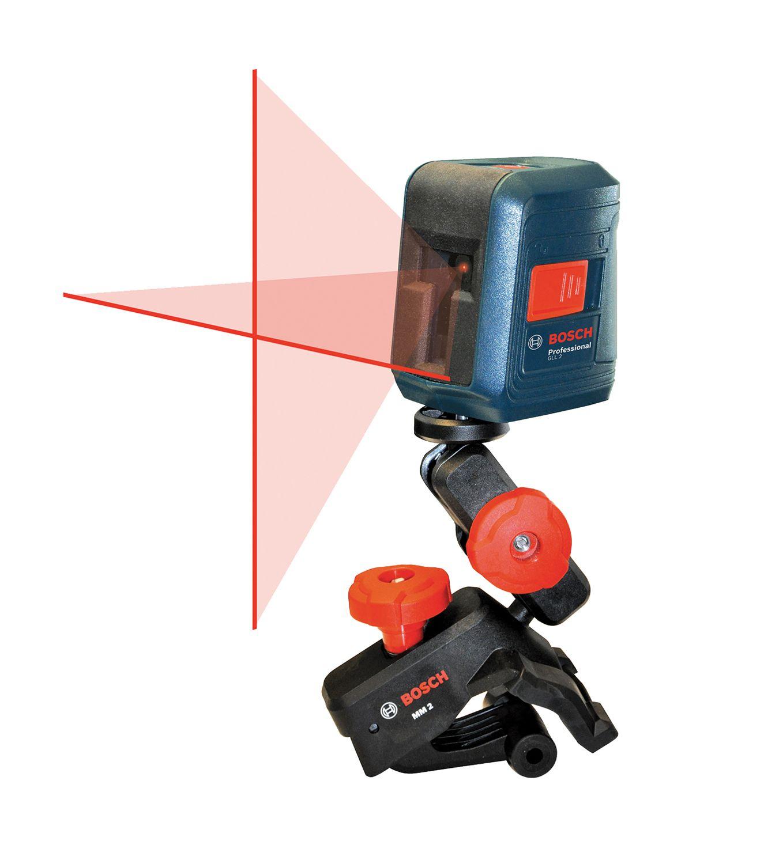 Laser Measuring Instruments : Bosch tools self leveling cross line laser gll
