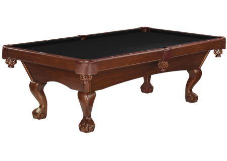 Brunswick Glen Oaks 8 Ft. Chestnut And Ebony Billiard Table Package  - GLO8-CH-BC-SD-EB