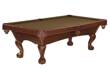 Brunswick Glen Oaks 8 Ft. Chestnut And Sahara Billiard Table Package  - GLO8-CH-BC-SD-SH
