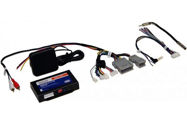 Large image of Pac Audio RadioPRO Advanced Interface For General Motors Vehicles - GM1A-RST