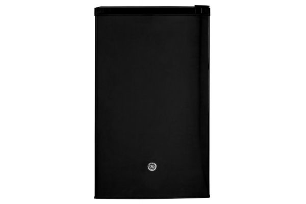 Large image of GE 4.4 Cu. Ft. Black Compact Refrigerator - GME04GGKBB