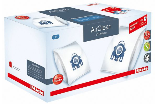 Large image of Miele AirClean 3D FilterBags Type GN And HA50 HEPA Filter - 10512500