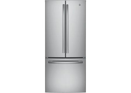GE Stainless Steel French Door Refrigerator - GNE21FSKSS