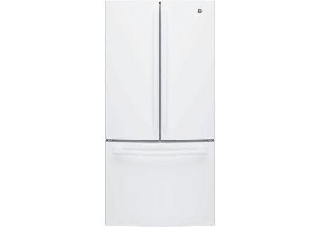 GE - GNE25JGKWW - French Door Refrigerators
