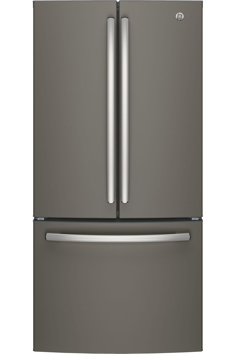 Ge slate french door refrigerator gne25jmkes ge gne25jmkes french door refrigerators rubansaba