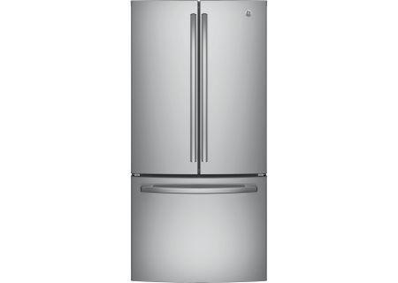 GE Stainless Steel French Door Refrigerator - GNE25JSKSS