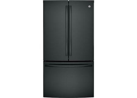 Ge French Door Bottom Freezer Refrigerator Gne29ggkbb