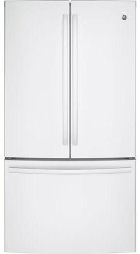 Ge French Door Bottom Freezer Refrigerator Gne29ggkww