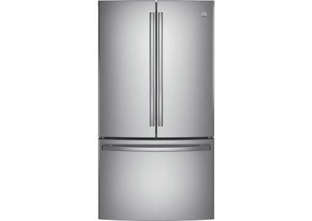 GE Stainless Steel French-Door Bottom Freezer Refrigerator - GNE29GSKSS