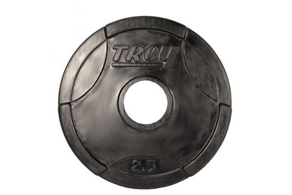 Troy Barbell 2.5lb Rubber Encased Olympic Grip Plate  - GO002R