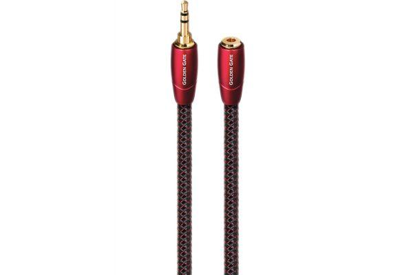 AudioQuest Golden Gate 16.4 Feet Headphone Extension Cable - GOLDENGATE35M235F5M