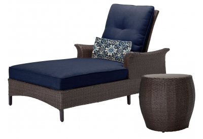Hanover - GRAMERCY2PC-NVY - Patio Furniture