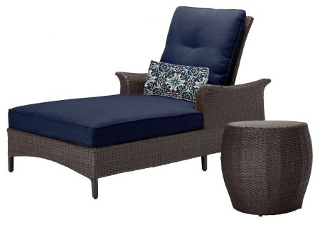 Hanover - GRAMERCY2PC-NVY - Patio Seating Sets
