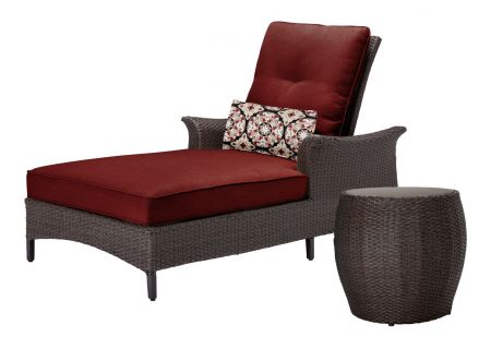 Hanover - GRAMERCY2PC-RED - Patio Seating Sets