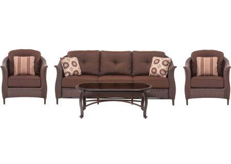 Hanover - GRAMERCY4PC-BRN - Patio Seating Sets