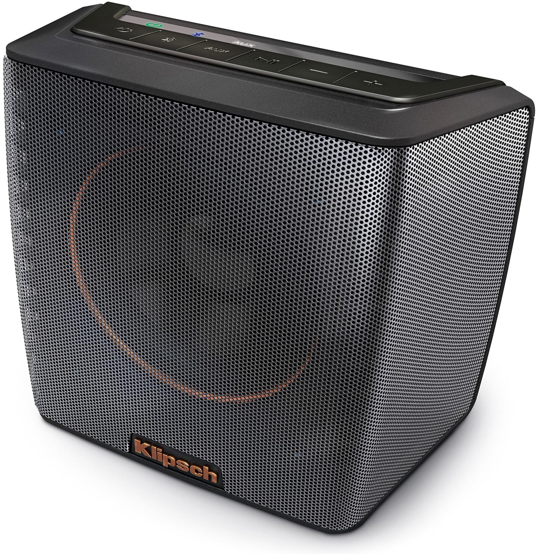Klipsch Black Portable Bluetooth Speaker GROOVE