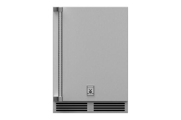 "Hestan 24"" Stainless Steel Outdoor Refrigerator  - GRSR24"