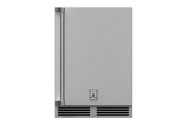 """Large image of Hestan 24"""" Stainless Steel Right-Hinge Outdoor Undercounter Refrigerator - GRSR24"""