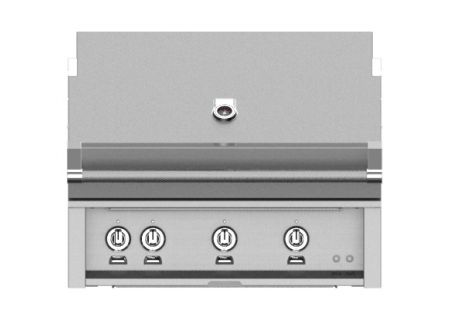 "Hestan 36"" Stainless Steel Built-In Sear Burner Rotisserie Natural Gas Grill - GSBR36-NG"
