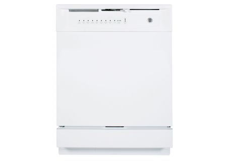 "GE 24"" White Built-In Dishwasher - GSD4000KWW"