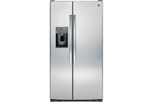 GE Stainless Steel Side-By-Side Refrigerator - GSE25GSHSS