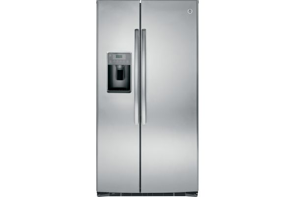 GE Stainless Steel 25.4 Cu. Ft. Side By Side Refrigerator - GSE25HSHSS