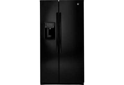 GE - GSE26HGEBB - Side-by-Side Refrigerators