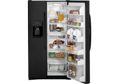GE - GSHF6LGZBB - Side-by-Side Refrigerators