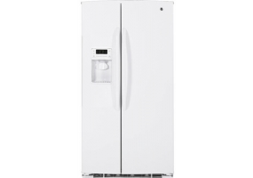 GE - GSHF6PGYWW - Side-by-Side Refrigerators